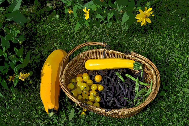 Garden Harvest Art