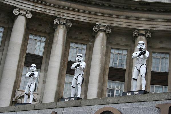 Star Wars on the Thames