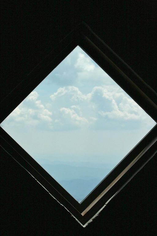 Cloud in window