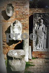 """Ancient Torcello Shields"" Copyrt 2007 Marg Burgess"