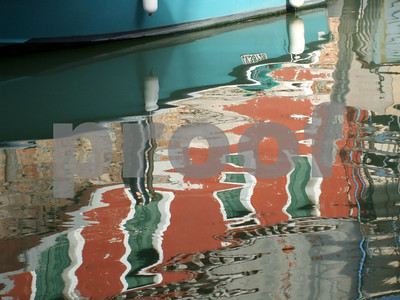 """Venice Reflections"" copyrt 2012 Margaret Burgess"