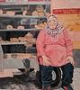 Fatima<br /> 2018<br /> Oil paint on canvas<br /> Denver Art Museum:
