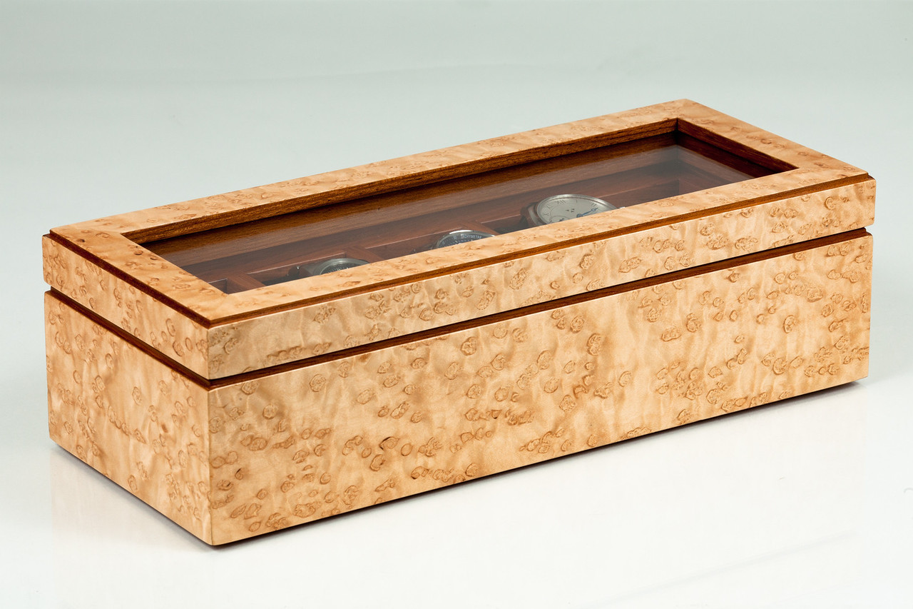 Jatoba Interior - Heavy Birdseye Maple Exterior<br /> SOLD