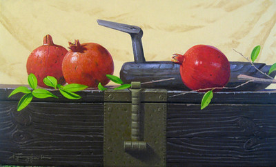 Still Life 3 - Pomegranate