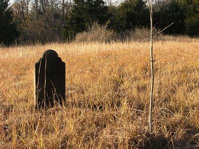 Gravestone, Highland Cemetery, TX