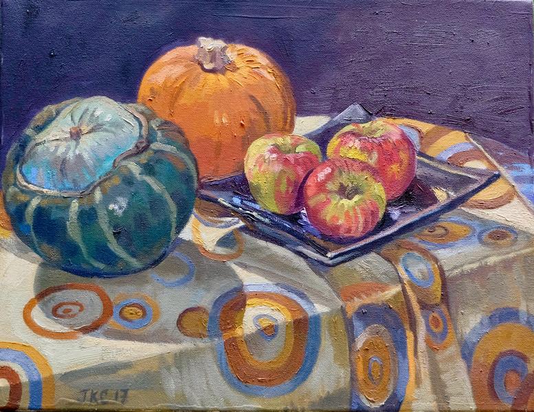 Squash, Pumpkin and Apples