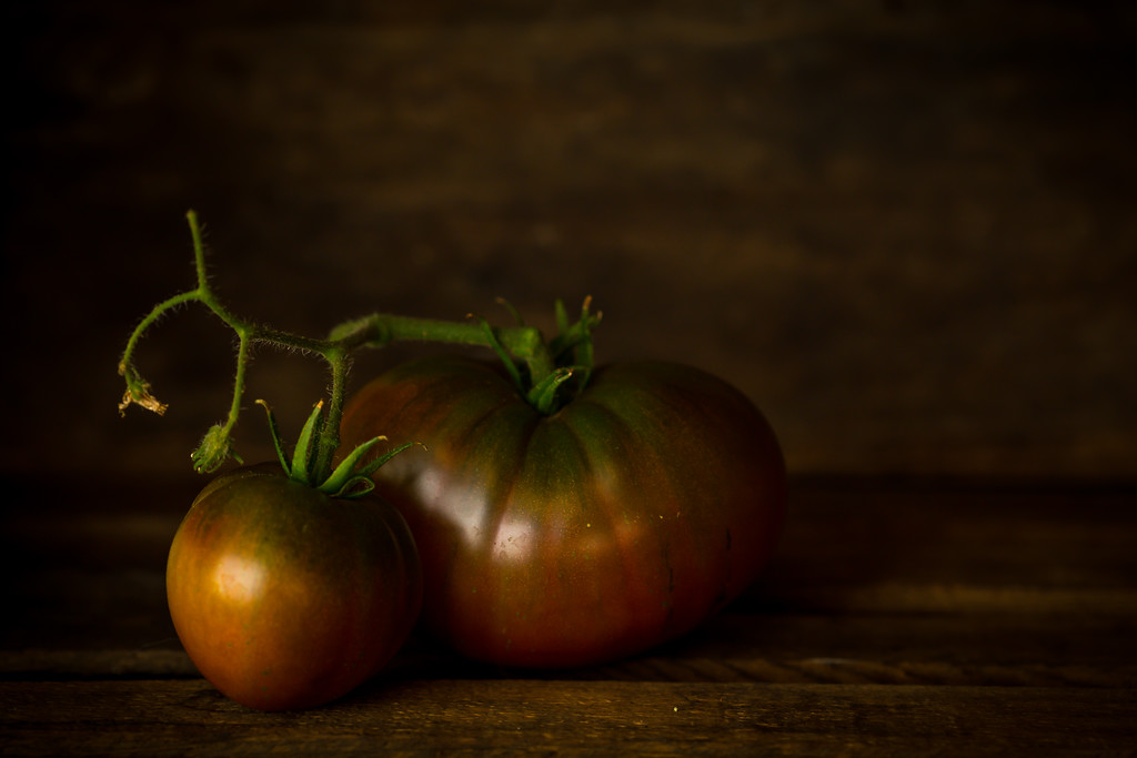 Heirloom tomatoes 2