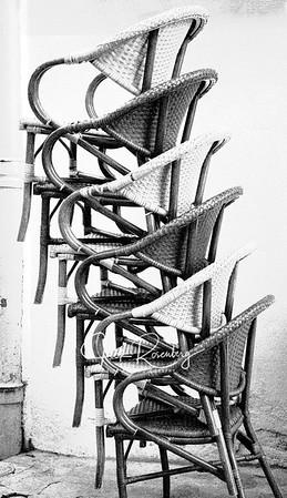 """Arles 2019 - Six Chairs"""