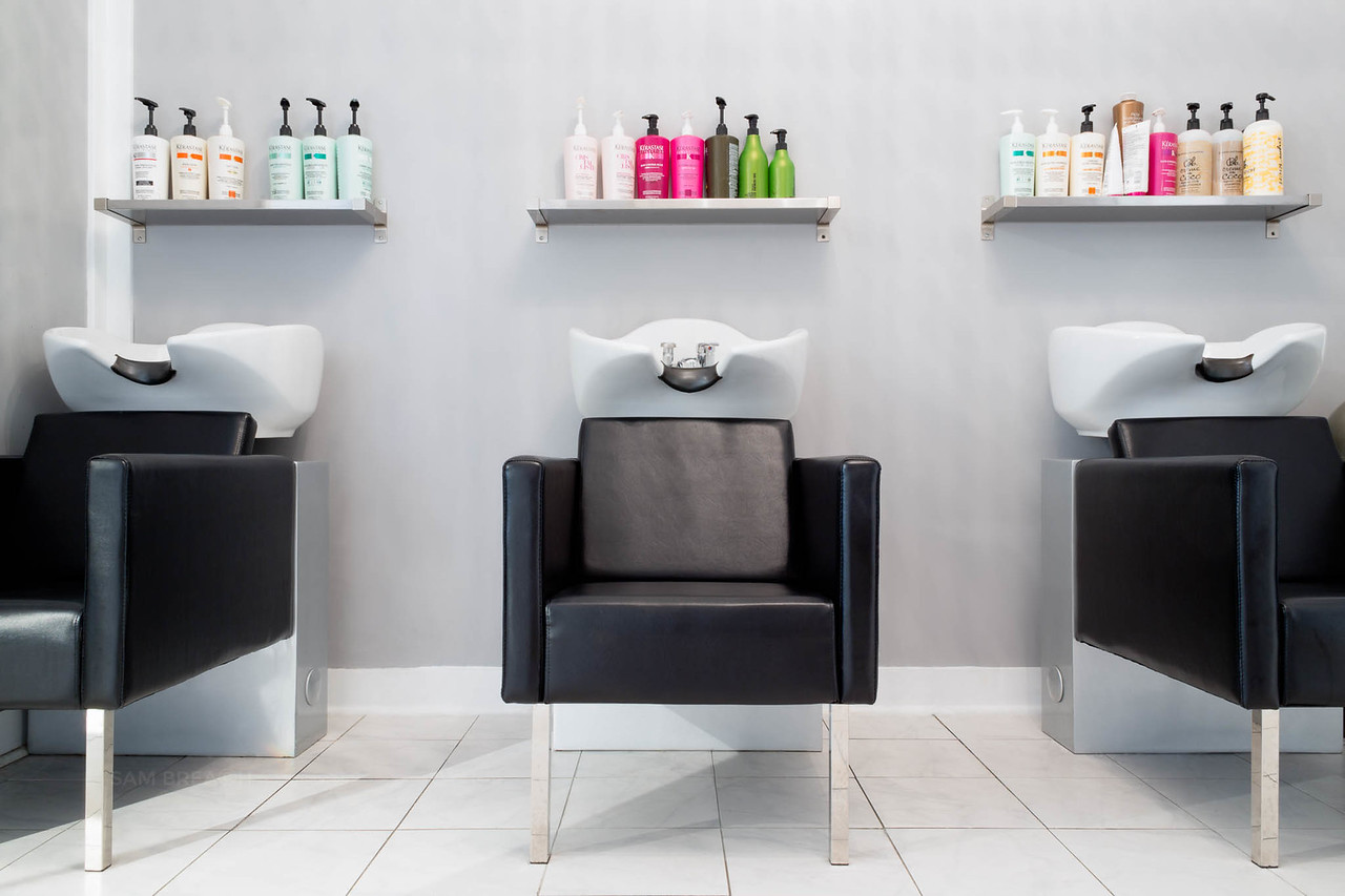 Posh Hair Salon SF photographed by Sam Breach