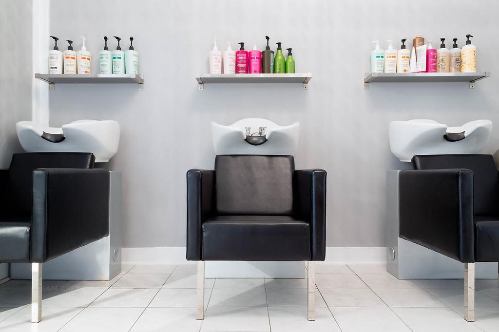 Posh Hair Salon SF photographed by Sam Breach