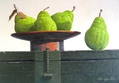 Still Life 3 - Pear