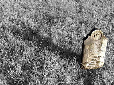 Grady, Infant Son, Highland Cemetery, TX