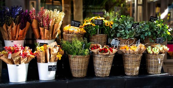 """Macon, France 2019 - Flower Shop"""