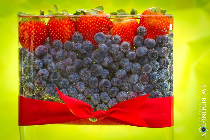 Strawberry-Blueberry Fizz