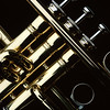 Trumpet close-up photo.  Copyright - W. Keith Baum | PhotoCanal.com