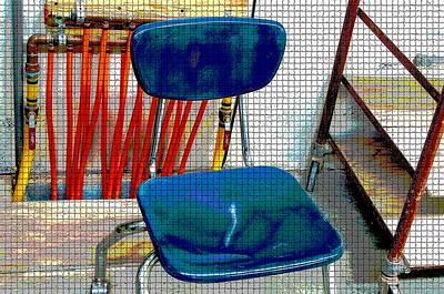 Blue Chair Mosaic