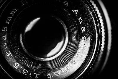 Vintage Lens Closeup