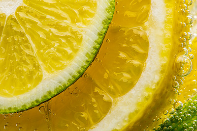 Lemons and Limes in Seltzer