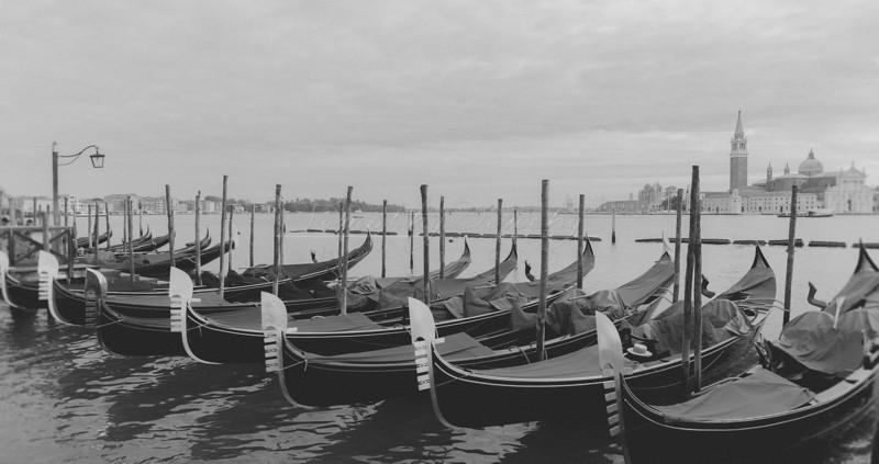 Gondola Docks, Grand Canal, Venice Italy