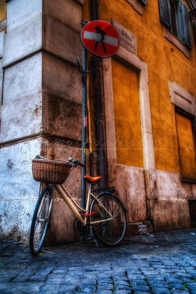 Roman bicycle