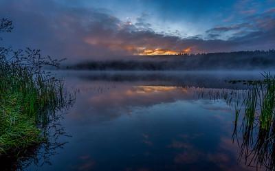 Crocker Lake near Quilcene, Washington
