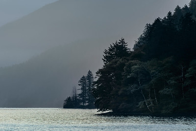 Lake Crescent, Olympic National Park, Washington