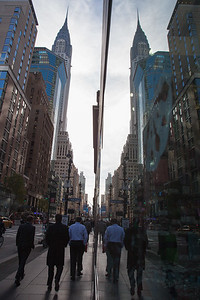Walking down Lexington avenue