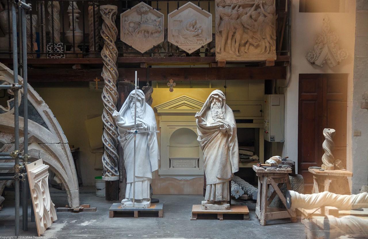 Florence - a Sculpture Restoration Workshop