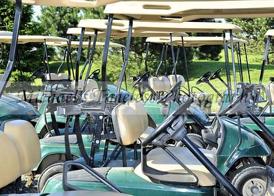 Golf Carts - 5 x 7