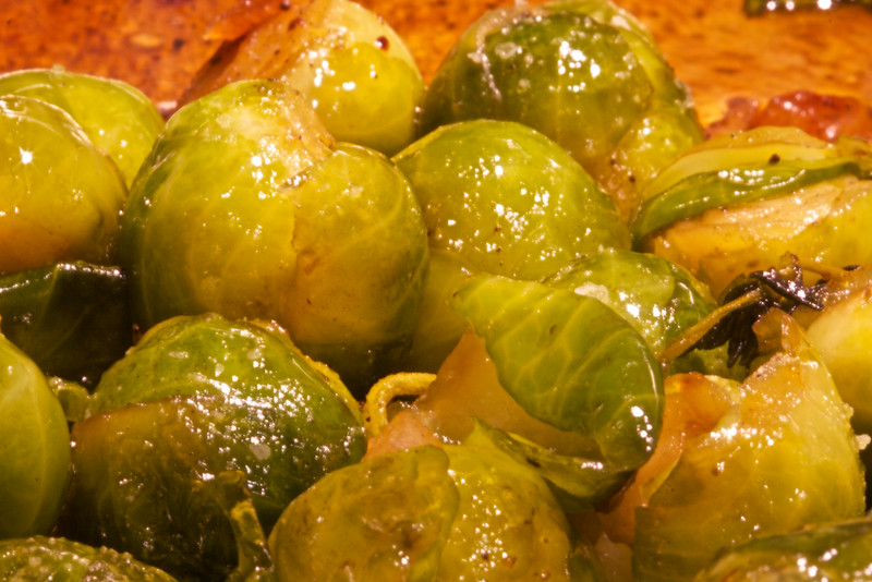 HOMEMADE BRUSSEL SPROUTS