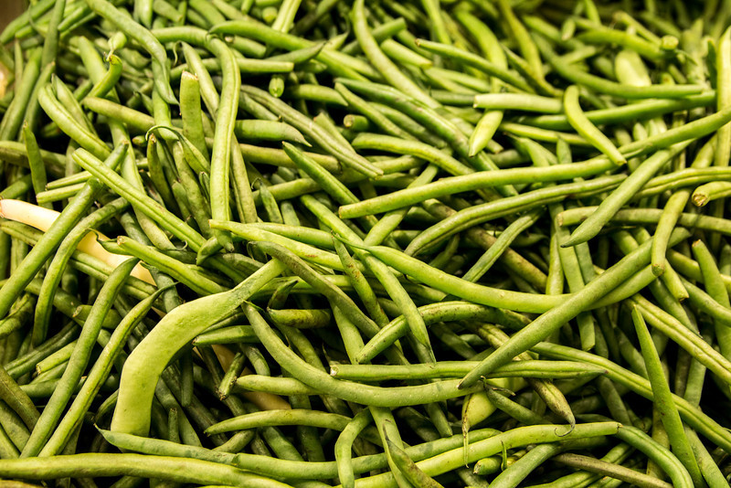 Green Beans And One Yellow One