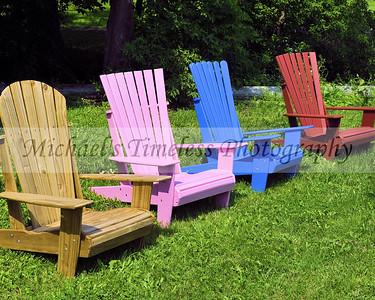 Adirondack Chairs - 8 x 10