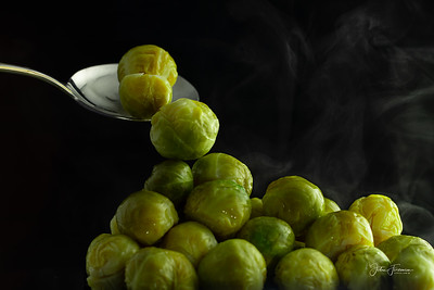 Steaming Brussel Sprouts