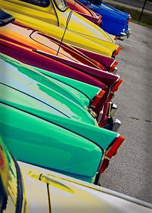 Skoda vintage car gathering, Etyek, Hungary