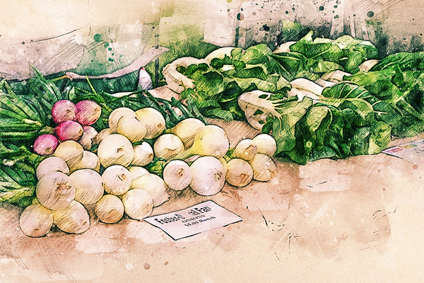 farmer's market fresh ...