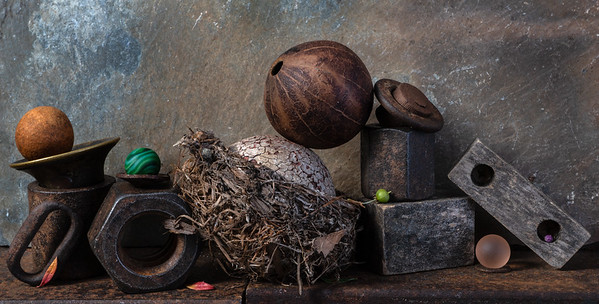 Nesting Ball and Gourd