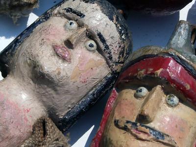 Antike Marionetten
