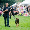 Members of the Massachusetts State Police put on a K9 demonstration during the Stillman Farm Country Fair in Lunenburg on Saturday afternoon. SENTINEL & ENTERPRISE / Ashley Green