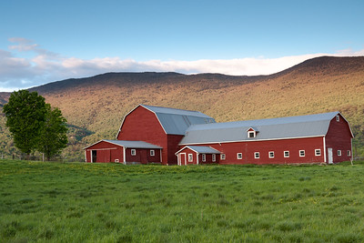 The classic Vermont Barn on the hill