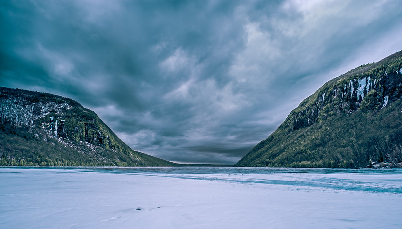Lake Willoughby Infrared