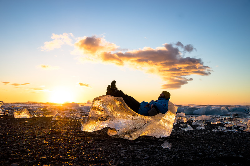 NATURE'S RECLINER, ICELAND 2014