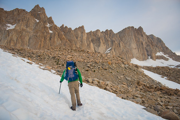 Climbing Mount Whitney