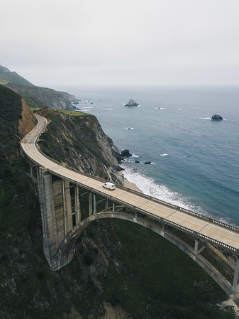 Bixby Creek Bridge, Big Sur, CA