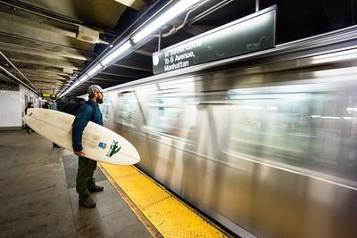 NEW YORK SUBWAY SURFER