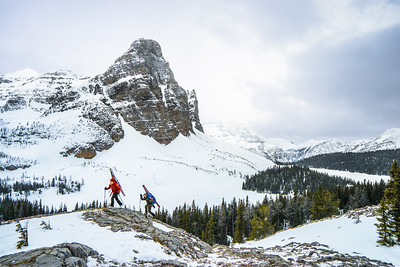 Hiking in Alberta, 2015