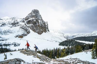 Hiking in Alberta, 2015