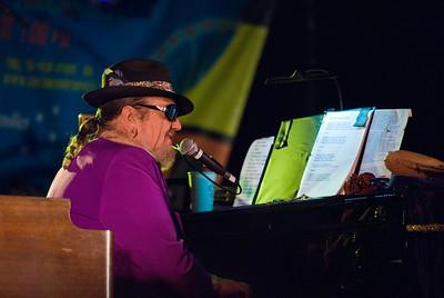 Dr. John in Purple