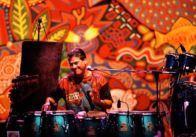 Santana - percussion