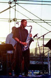 Branford Marsalis on Sax