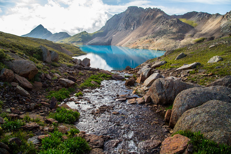 Columbine Lake, Silverton, CO